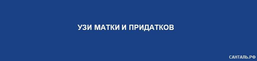 УЗИ матки и придатков Санталь Краснодар