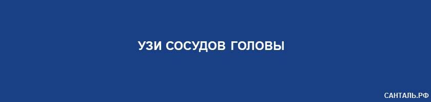 УЗИ сосудов головы Санталь Краснодар